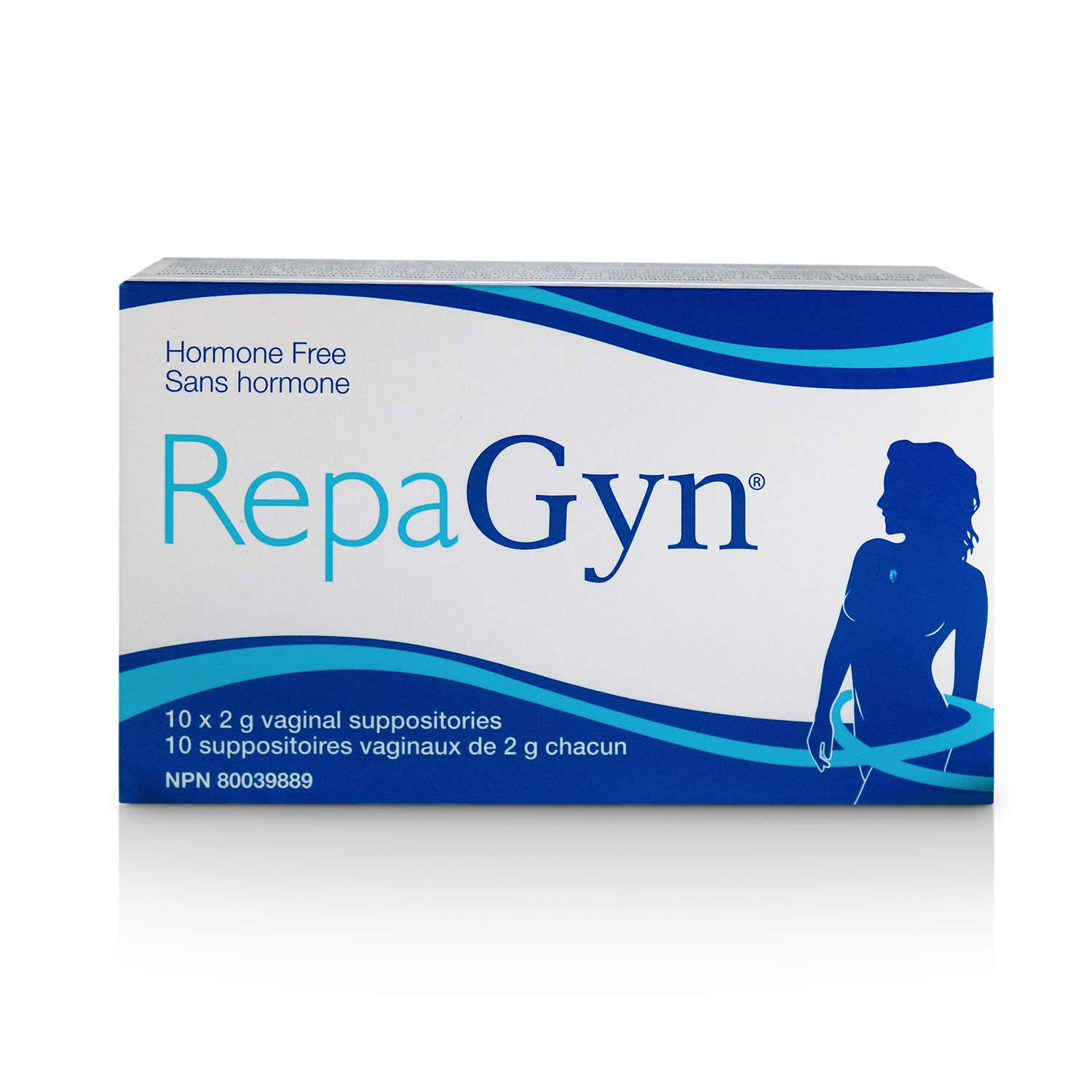 Queensborough Community Pharmacy Repagyn Vaginal Suppositor - 10ct, 2g