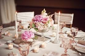 Round Table Settings For Weddings Awesome Wedding Centerpieces Tables
