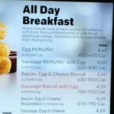 of McDonald s Shelbyville TN United States All day breakfast menu states