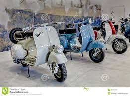 Vintage Scooters Vespa And Lambretta