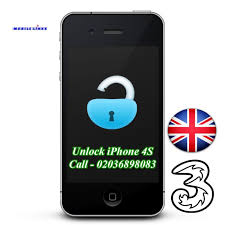 iPhone 4S Unlocking 3 Network UK in East London