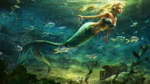 mermaid wallpaper image by Sharleen on Favim