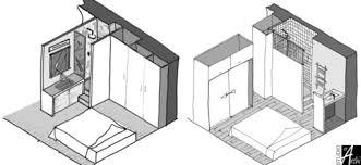salle d eau chambre mini salle d eau dans une chambre studio d archi le d