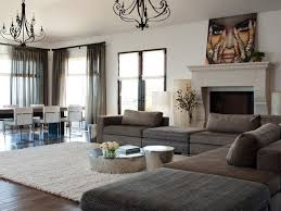 brown sectional ideas houzz