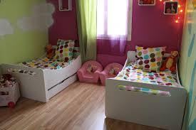 ma chambre d enfant 2 lits enfants évolutif blanc dans la chambre de petites
