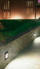 recessed wall light fixture fluorescent square outdoor