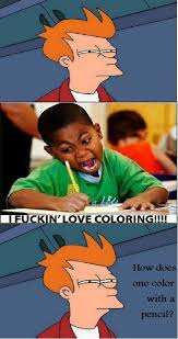 Black Kid Coloring