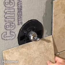 how to cut a large in tile family handyman