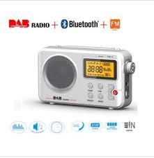 portable dab dab digital fm radio bluetooth alarm clock