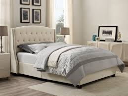 Sears Headboards And Footboards dorel olivia upholstered bed multiple colors and sizes