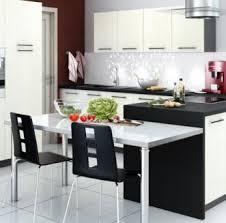 cuisine en u avec table cuisine en u avec table great handsome cuisine plan type plan de