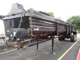 100 End Dump Trucking Companies 2007 Lufkin 38X96 38x96 Tandem Axle Steel Half Round