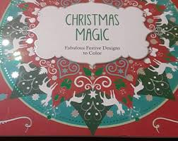 Christmas Magic Adult Coloring Book