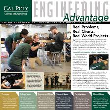 Cal Poly Baker Floor Plan by Cal Poly Engineering Advantage U2014 Spring 2017 By Engineering