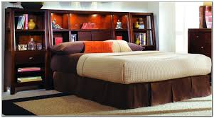 Queen Size Waterbed Headboards by King Bed Frames With Storage U2013 Bare Look