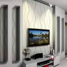 Magnificent Wallpaper Small Living Room Feature Wall Ideas With Gray Tv Rack