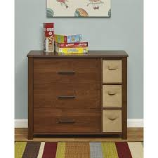 3 Drawer Wicker Chest Walmart by Mainstays Ethan 3 Drawer Dresser With Bins Multiple Colors