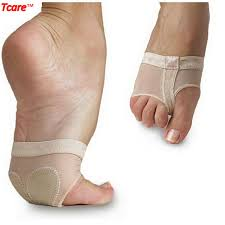 Tcare Hot Sale Feet Care Socks Open Toe Ballet Yoga Dance Practice Paws Shoes Pad Foot