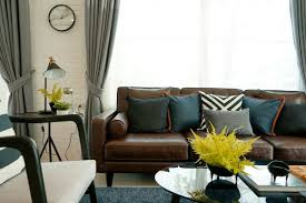 Curtain Color Advice For Dark Brown Furniture | ThriftyFun