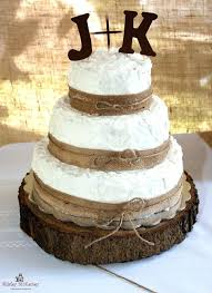 Burlap Wedding Cake Ideas Decorations Rustic With Google Search