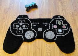 Video Game Controller Rug For Your Room