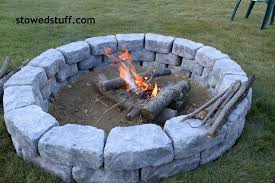 How To Build A Fire Pit | Stowed Stuff Fire Up Your Fall How To Build A Pit In Yard Rivers Ground Ideas Hgtv Creatively Luxurious Diy Project Here To Enhance Best Of Dig A Backyard Architecturenice Building Stacked Stone The Village Howtos Make Own In 4 Easy Steps Beautiful Mess Pits 6 Digging Excavator Awesome