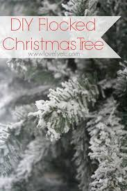 You Can Turn Any Christmas Tree Into A Gorgeous Snowy Flocked Instructions On