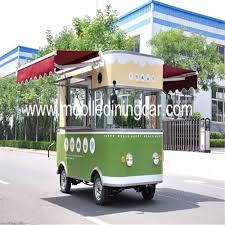 China High Quality Mobile Restaurant Truck Fast Food Van For Sale ...