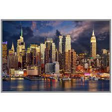 wandbild gerahmt 60x90cm rahmenbild deko motiv new york