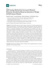 100 Nearest Ta Truck Stop PDF SelfTuning Method For Increased Obstacle Detection