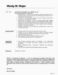 29 Electrician Apprentice Resume Example