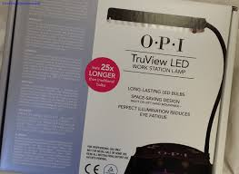 Opi Uv Lamp Instructions by Truview Lamp From Opi Seriously Nails