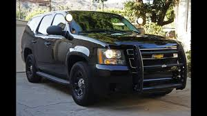 100 Tahoe Trucks For Sale Chevy Police Pursuit Vehicle PPV SOLD