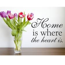 Home Is Where The Heart Quote Clipart Panda
