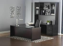 Realspace Broadstreet Contoured U Shaped Desk Dimensions by Premium Espresso U Shaped Executive Desk With Hutch U0026 Mobile File