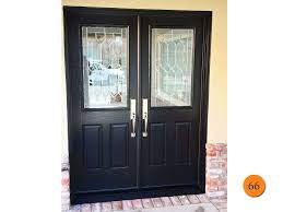 Therma Tru Entry Doors by Amazing Black Double Front Doors With Modern Double Entry Doors