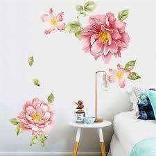 wandtattoo wandsticker wandaufkleber wohnzimmer 3d blumen hause dekor aufkleber