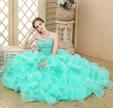 2015 brand new in stock green quinceanera dresses sweetheart ball