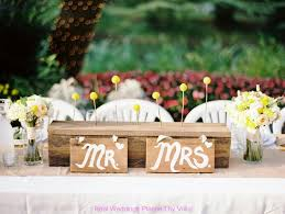 Bride And Groom Wedding Table Decorations Decoration
