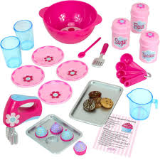 Amazon 18 Inch Doll Baking Set of 26 Pcs Fits American Girl