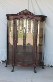 Curved Glass Curio Cabinet Antique by Bargain John U0027s Antiques Blog Archive Antique Large Oak Curved