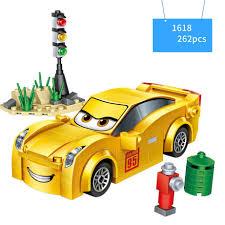 100 Jackson Truck And Trailer Hot Cartoon Movie Sports Car Story Mini Block Racing Mcqueens