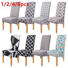 Best Sale #6847 - 1/2/4/6pcs Dining Chair Cover Stretch ... Blancho Bedding 2 Piece Sets Of Elastic Chair Slipcovers Stretch Sofa Covers Cover Couch For 1 3 Seater Slipover Top Quality New Winter 1234 Thickened Sofa Cover Case Living Room Details About Easy Fit Lounge Protector 124x High Back Ding Knit Compare Idyllic Plant Print 4 Rowe Easton Casual And A Half With Slipcover Belfort Parson Life Is Party Best Sale 6847 1246pcs White Loviver 124pcs Removable 1246pcs Spandex Chairs Detachable Solid Color For Banquet Hotel Kitchen Wedding