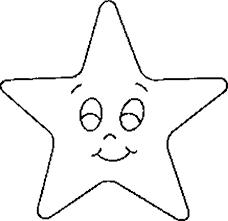 Star Coloring Pages For Kids Printable