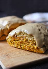 Pumpkin Scone Starbucks 2015 by Pumpkin Spice Scones With Cappuccino Cream Glaze Soupaddict Com