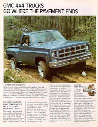 Car Brochures - 1977 Chevrolet And GMC Truck Brochures / 1977 GMC ... 1977 Gmc 4x4 My Fantasy Fleet Pinterest Gmc And Cars Junkyard Find Rally Stx Van The Truth About Sarge Pickup Classic Wkhorses Sprint Caballero Wikipedia Another Mikeo37 Sierra 1500 Regular Cab Post Classics For Sale On Autotrader Super Custom 496 Pickup Truck Build Project Youtube Grande 1947 Present Chevrolet High Sale 4x4 Custom_cab Flickr Questions How Does One Value A Classic