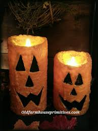 Halloween Battery Operated Taper Candles by Flameless Candles