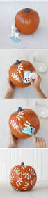Minion Pumpkin Template Paint by 25 Best Painted Pumpkins Ideas On Pinterest Painting Pumpkins
