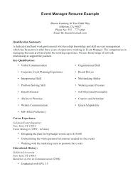 Resume First Job No Experience Example Work History Examples