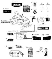 Craftsman Lt1000 Drive Belt Size by Craftsman 247288810 Parts List And Diagram Ereplacementparts Com